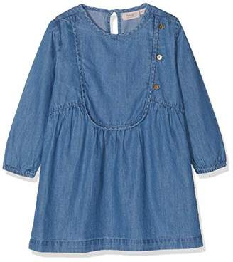 b358af38fcf9 Mini A Ture Noa Noa Miniature Baby Girls Denim Dress (Size: 9M)