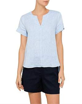 David Jones Vented Neck Shirt