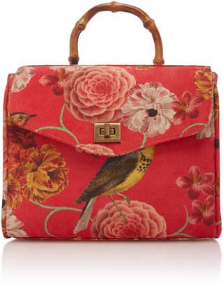 Glorinha Paranagua Bird Velvet Rosita Bag