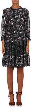 Ulla Johnson Women's Skye Silk Georgette Dress $555 thestylecure.com