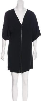 Chloé V-Neck Mini Dress