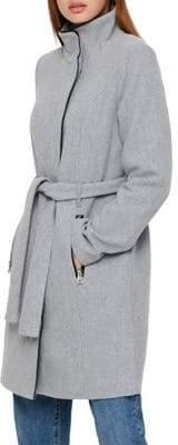 Vero Moda Long-Sleeve Self-Tie Coat