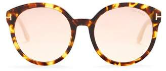 Tom Ford Philippa 55mm Oversized Sunglasses