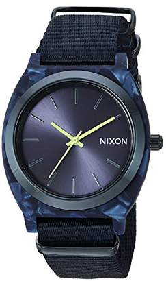 Nixon Women's Time Teller Acetate All Blue