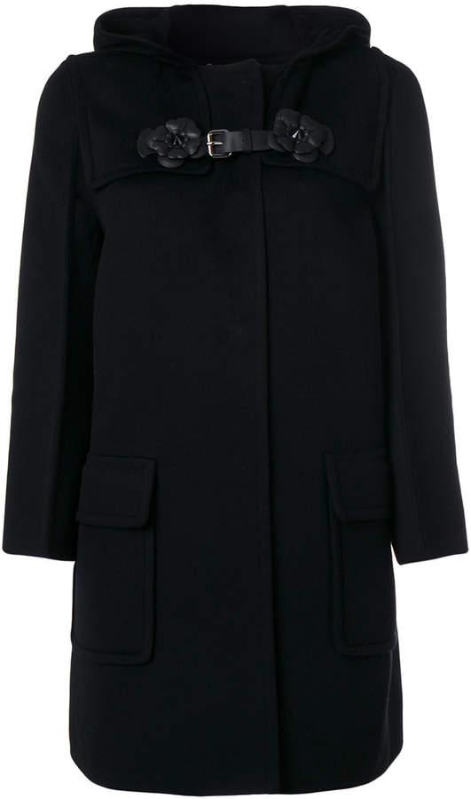 Fendi concealed fastening coat