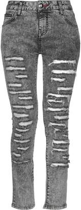 Philipp Plein Denim pants - Item 42726089JD