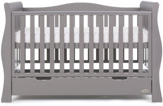 O Baby Obaby Stamford LuxeSleigh Cot Bed