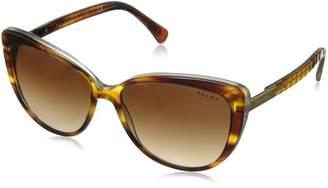 Ralph Lauren by Ralph by Women's 0RA5185 Round Sunglasses