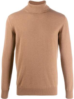 Eleventy ribbed turtleneck jumper