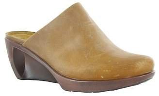 Naot Footwear Leather Wedge Clog