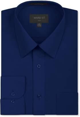 Ward St Men's Regular Fit Dress Shirts, Medium, 15-15.5N 30/31S