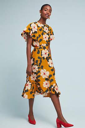 Eva Franco Ikebana Floral Skirt