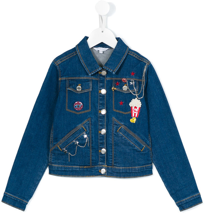 Little Marc Jacobs Little Marc Jacobs Popcorn denim jacket