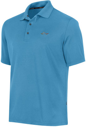 Greg Norman for Tasso Elba Men's 5 Iron Performance Golf Polo $49.50 thestylecure.com