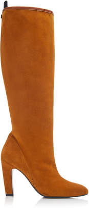 Stuart Weitzman Charlie Slouchy Suede Boots