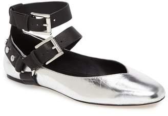 Rebecca Minkoff Vivica Ankle Strap Flat