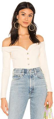 Majorelle Buttoned Up Bodysuit
