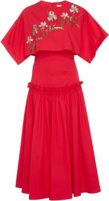 Vivetta Alhena Cape Dress