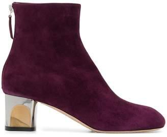 Alexander McQueen clear heel boots