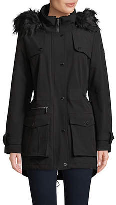 DKNY Hoden Softshell Hooded Jacket