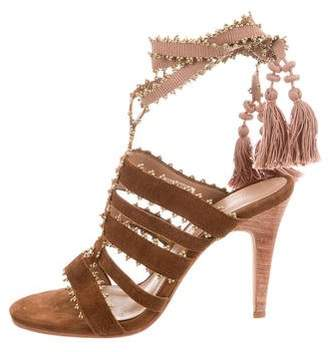 Ulla Johnson Embellished Sabina Sandals