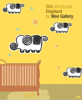 Blik Elephant Wall Decal