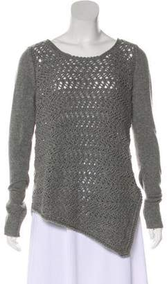 Helmut Lang Scoop Neck Wool Sweater