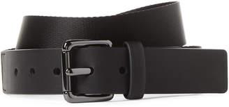 DKNY Web Logo Nylon Belt