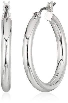 Chaps Women's 25Mm Classic Clickit Hoop Earrings