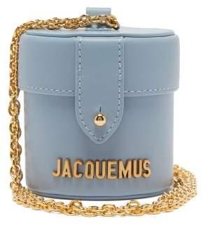 Jacquemus Le Vanity Micro Leather Bag - Womens - Light Blue