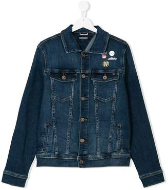 Tommy Hilfiger Junior TEEN trucker denim jacket