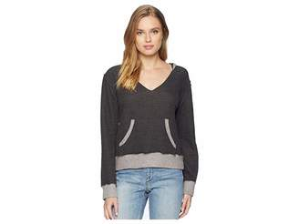 Lucy-Love Lucy Love Open Back Hoodie Women's Sweatshirt