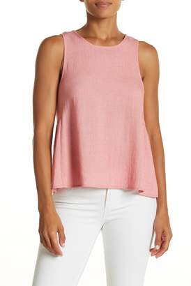 Elodie Side Detail Button Back Tank Top