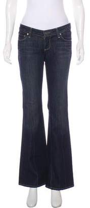 Paige Low-Rise Flared Jeans