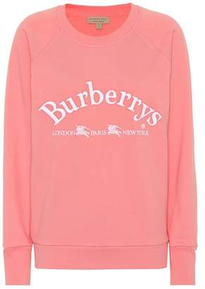 Burberry Battarni Archive cotton sweatshirt