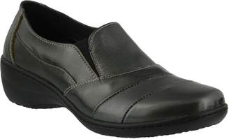 Spring Step Slip-on Leather Shoes - Kitara