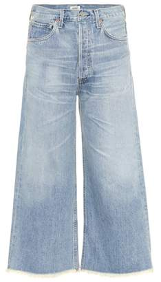 Citizens of Humanity Emma wide-leg cropped jeans