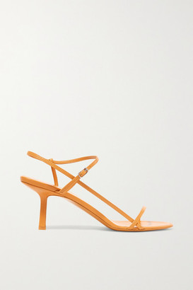 a2517c6e810 The Row Bare Leather Sandals - Mustard