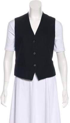 Creatures of Comfort Asymmetrical Button-Up Vest