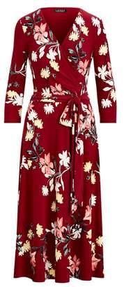 Ralph Lauren Floral Self-Tie Dress