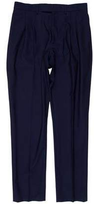 Christian Dior Virgin Wool Pleated Pants