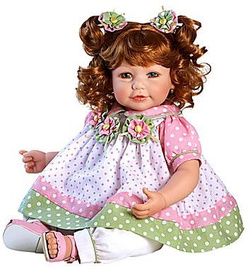 "JCPenney Adora 20"" Baby Doll Tutti Fruity Red Hair/Blue Eyes"