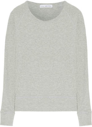 James Perse - French Cotton-terry Sweatshirt - Gray $125 thestylecure.com