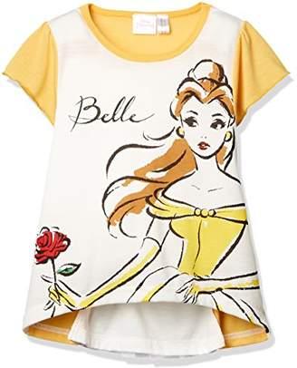 Disney (ディズニー) - [ディズニー] DBベルバックシャンTシャツ 332107007 ガールズ イエロー 日本 95 (日本サイズ95 相当)