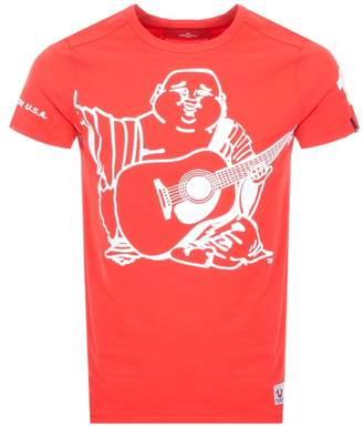 True Religion Buddha T Shirt Red