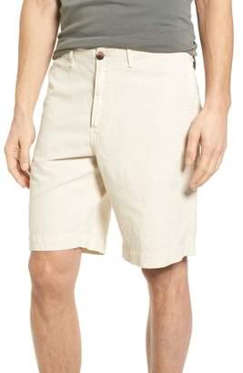 Billy Reid Clyde Cotton & Linen Shorts