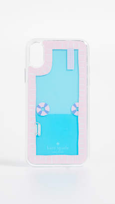 Kate Spade Pool and Floaties iPhone X Case