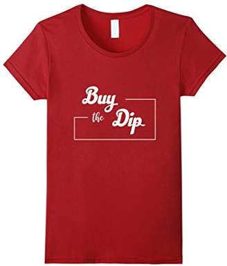 Buy The Dip Bitcoin Cryptocurrency Holder T-shirt