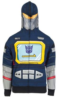 Transformers I Am Sound Soundwave Costume Zip Up Hoodie Sweatshirt | M