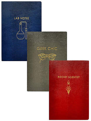 Sloane Stationery Asst. of 3 Geek Chic Journals - Red
